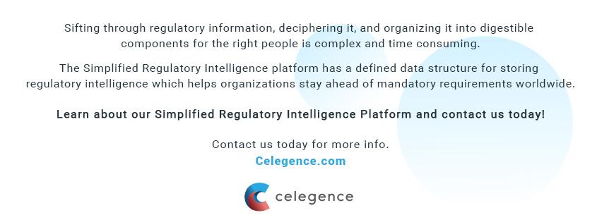 Mandatory Life Science Regulatory Requirements Worldwide - Celegence Regulatory Intelligence