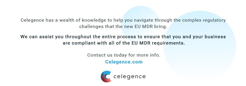 New EU MDR - Compliance Experts - Celegence