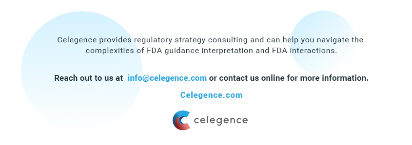 FDA Guidance Interpretation Specialists - Celegence