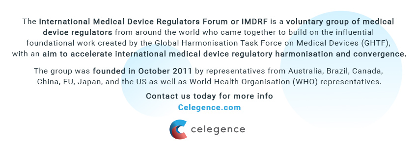 Who Are the IMDRF - Celegence - Medical Device Regulators
