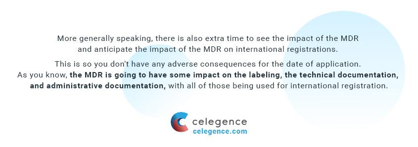 MDR Changes on International Registrations - Regulatory Compliance - Celegence
