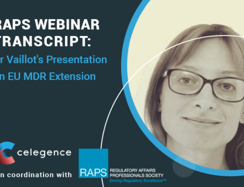 RAPS Webinar Transcript – Dr Vaillot's Presentation on EU MDR Extension