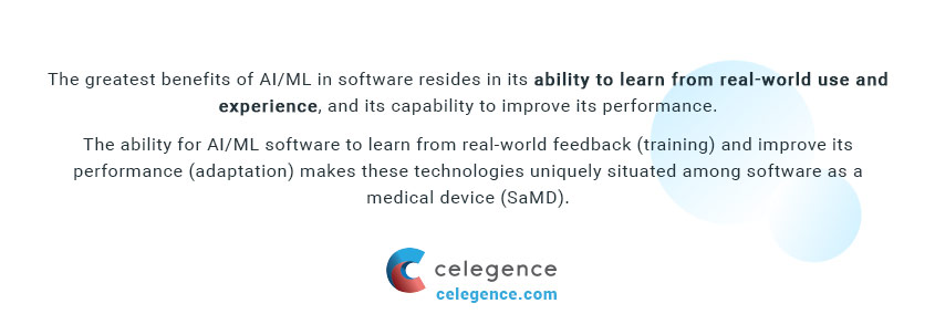 Artificial Intelligence - Medical Machine Learning - Software as a Medical Device - EU MDR - Celegence