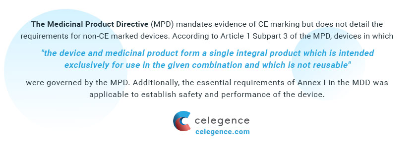 Medicinal Product Directive MPD - MDR Article 117 - Implications for Drug-device Combination Products