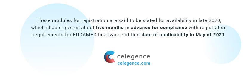 Eudamed Compliance Dates EU MDR - John Bradsher - Celegence