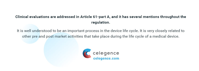 Article 61 Part A - Clinical Evaluations - Celegence