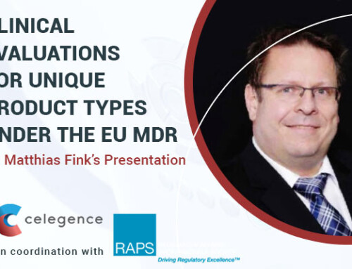 Clinical Evaluations for Unique Product Types Under the EU MDR – Dr. Matthias Fink's Presentation