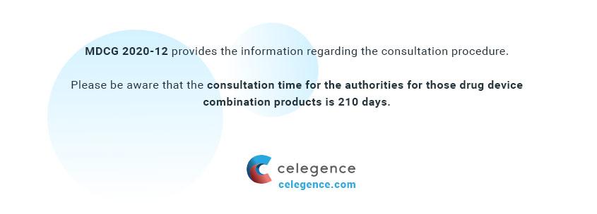 MDCG 2020-12 - Consultation Procedure Drug Device - Celegence