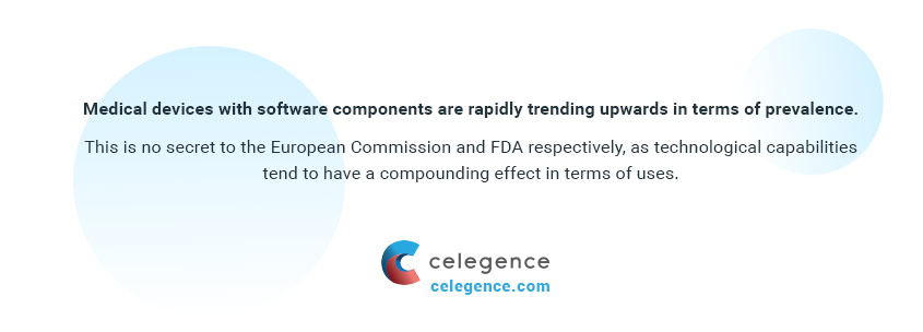Medical Devices with Software Components - Celegence