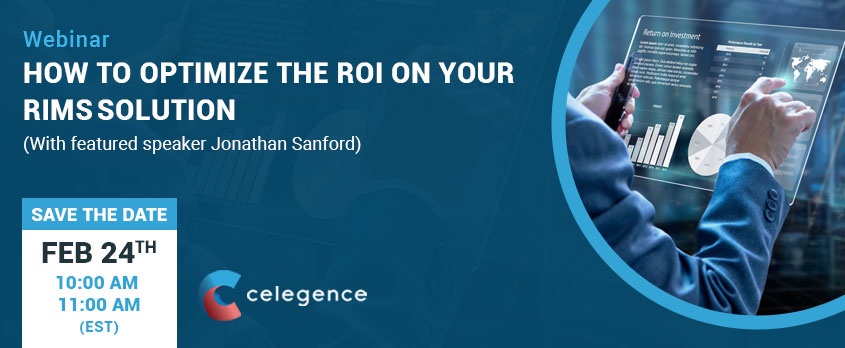 How to Optimize ROI Your RIMS Solution - Webinar - Jonathan Sanford