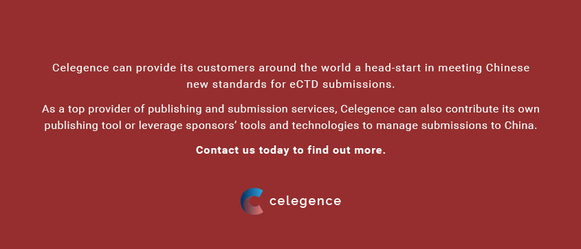 Chinese eCTD Submissions - Celegence Life Science Consultancy