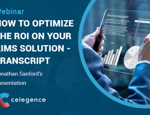 How to Optimize the ROI on Your RIMS Solution Webinar – Jon Sanford's Presentation