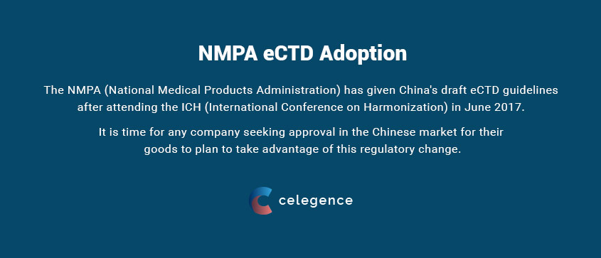 NMPA eCTD Adoption China - Celegence