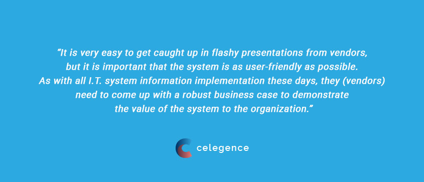 RIMS Solutions IT Requirements - Jonathan Sanford RIMS Webinar - Celegence