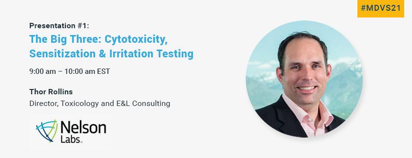 Thor Rolllins - Cytotoxity - Sensitization - Irrtation Testing - Nelson Labs
