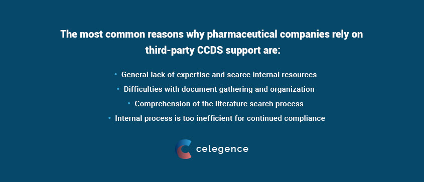 Pharma Companies - Third Party CCDS Support for Medical Writing - Celegence