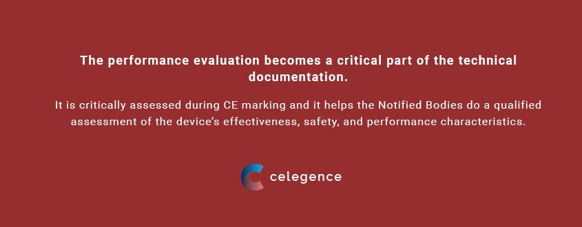 Performance Evaluation - IVDR Regulation EU - Celegence