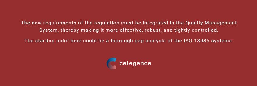 Quality Management System for IVDR ISO 13485 - EU MDR - Celegence