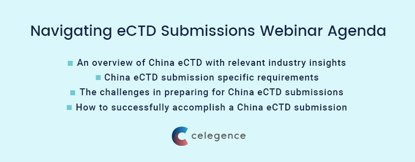 Navigating ECTD Submissions China - Webinar Agenda