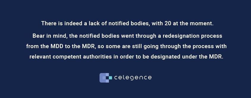 Notified Bodies MDR - Life Science Regulators - Celegence