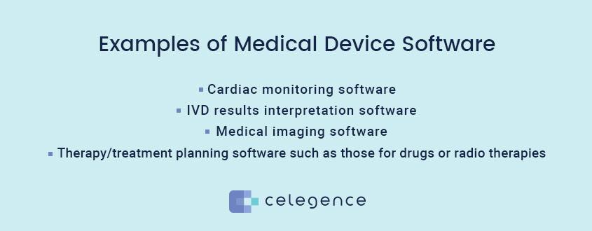 Examples Medical Device Software - Celegence
