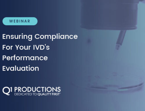 Ensuring Compliance For Your IVD's Performance Evaluation – Webinar